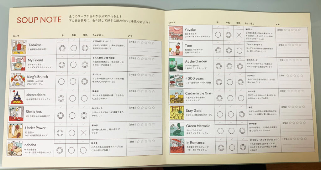 GREEN SPOON 冊子2